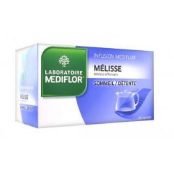 médiflor infusion mélisse 24 sachets