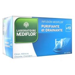 médiflor infusion n°13 purifiante et drainante