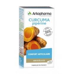 arkogélules curcuma piperine 45 gélules