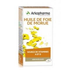 arkogélules huile de foie de morue 60 capsules