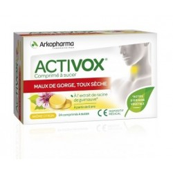 arkopharma activox comprimé à sucer