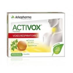 arkopharma activox lierre pastilles