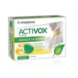 arkopharma activox pastilles menthe eucalyptus sans sucre