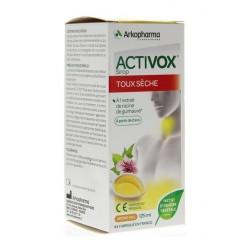 arkopharma activox sirop toux sèche 125 ml