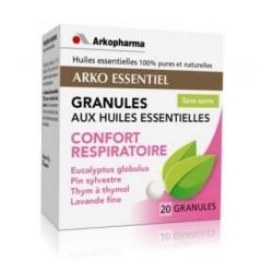 arkopharma arko essentiel confort respiratoire granules aux huiles essentielles