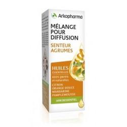 arkopharma arko essentiel mélange pour diffusion senteur d'agrumes 15 ml
