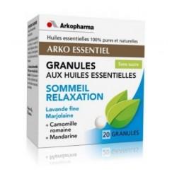 arkopharma arko essentiel sommeil relaxation granules aux huiles essentielles