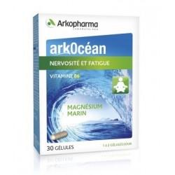 arkopharma arkocéan magnésium marin + vitamine b6 30 gélules