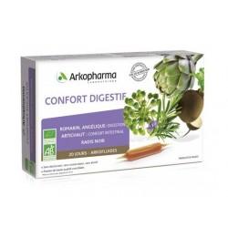 arkopharma arkofluides confort digestif bio 20 ampoules