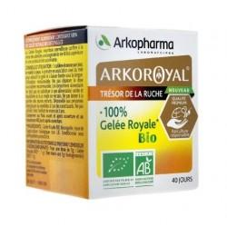 arkopharma arkoroyal 100% gelée royale bio 40 g