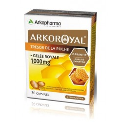 arkopharma arkoroyal gelée royale 1000 mg 30 capsules