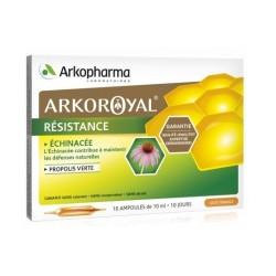 arkopharma arkoroyal résistance 20 ampoules