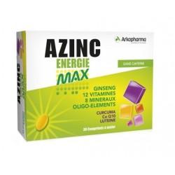 arkopharma azinc energie max 30 comprimés
