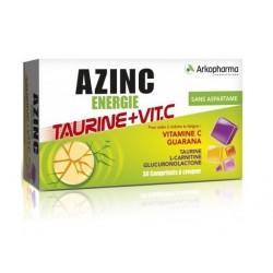 arkopharma azinc energie taurine et vitamine c 30 comprimés