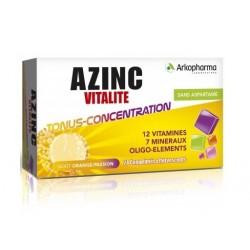 arkopharma azinc forme et vitalité 24 comprimés effervescents