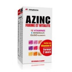 arkopharma azinc forme et vitalité 120 gélules