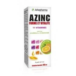 arkopharma azinc forme et vitalité solution buvable 150 ml