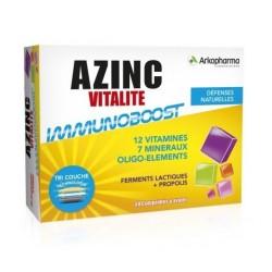 arkopharma azinc vitalité immunoboost 30 comprimés
