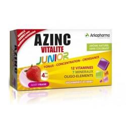 arkopharma azinc vitalité junior goût fraise 30 comprimés