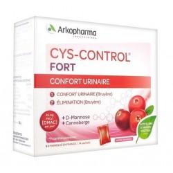 arkopharma cys-control fort 14 sachets