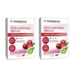 arkopharma cys-control médical 2 x 20 gélules