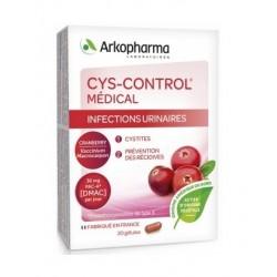 arkopharma cys-control médical 20 gélules