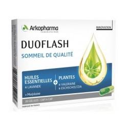 arkopharma duoflash sommeil de qualité 20 gélules