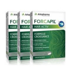 arkopharma forcapil hair activ 3 x 30 comprimés