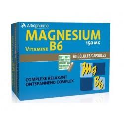 arkopharma magnésium vitamine b6 60 gélules
