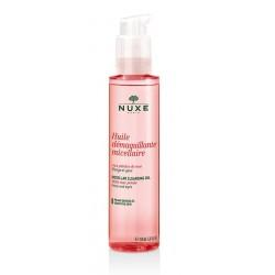nuxe huile démaquillante micellaire aux pétales de rose 150 ml