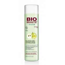 bio beauté by nuxe eau micellaire démaquillante anti-pollution 200 ml