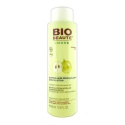 bio beauté by nuxe eau micellaire démaquillante anti-pollution 400 ml