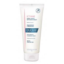 ducray ictyane crème lavante anti-dessèchement 200 ml