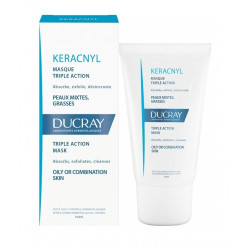 ducray keracnyl masque triple action 40 ml