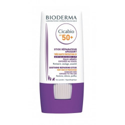bioderma cicabio stick réparateur apaisant spf 50+ 8 g