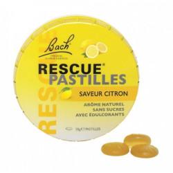 bach rescue pastilles saveur citron 50 g