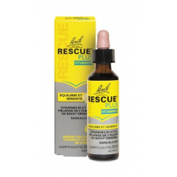 Bach Rescue Plus Vitamines Comptes Gouttes 20 ml