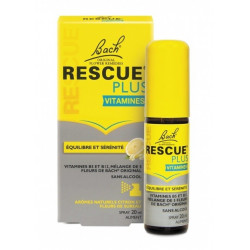 Bach Rescue Plus Vitamines Spray 20 ml
