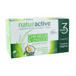 naturactive cheveux & ongles 2 x 45 capsules