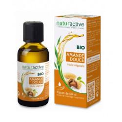 naturactive huile végétale bio amande douce 50 ml