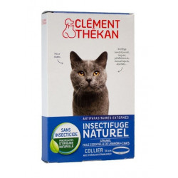 clément thékan collier insectifuge naturel chat
