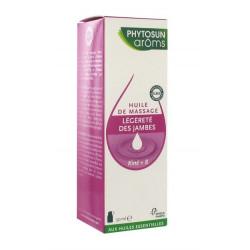 phytosun aroms kiné+ 8 huile de massage légèreté des jambes 50 ml