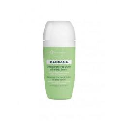 Klorane Déodorant Bille Très Doux à l'Althéa Blanc 40 ml