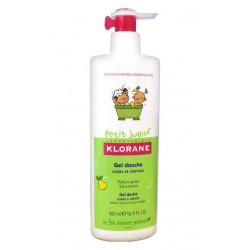 Klorane Petit Junior Gel Douche Corps et Cheveux 500 ml - Parfum Poire