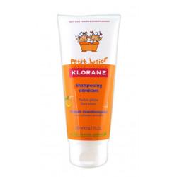 Klorane Petit Junior Shampooing Démêlant Parfum Pêche 200 ml