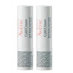 Avène Cold Cream Stick Lèvres Nourrissant 2 x 4 g