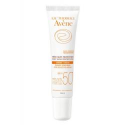 Avène Solaire Crème Zones Sensibles SPF 50+ 15 ml