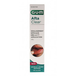 Gum Afta Clear Gel 10 ml