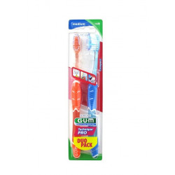 Gum Technique Pro Duo Pack 2 Brosses à Dents Médium 1528