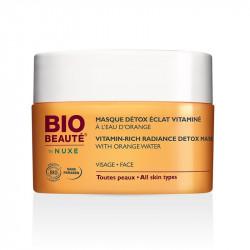 Bio Beauté By Nuxe Masque Détox Éclat Vitaminé à L'Eau d'Orange 50 ml